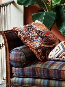 Bohemian Romance vackraste mönster- Lomond Velvet Mulberry Home