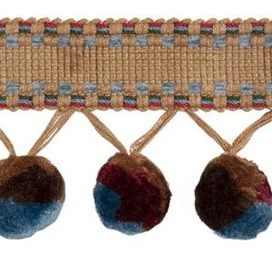 Bohemian Pom Pom – Arbetat Snörmakeri Från England