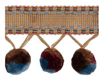 Bohemian pom pom - arbetat snörmakeri från England
