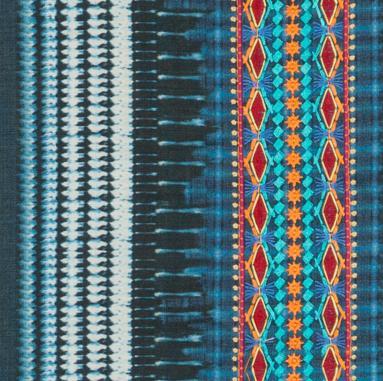 Etniska inslag - broderat och färgstarkt från Mulberry Home