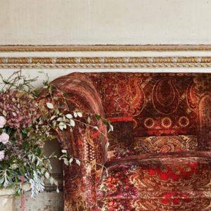 Bohemian Romance Vackraste Mönster  Lomond Velvet Mulberry Home 5