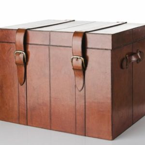 Oxford Trunk – En Stor Kista I Läder Från Balmuir