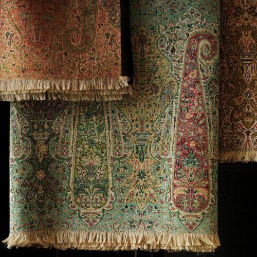 Antique Paisley - med inspiration från sjalarna i Kashmir.