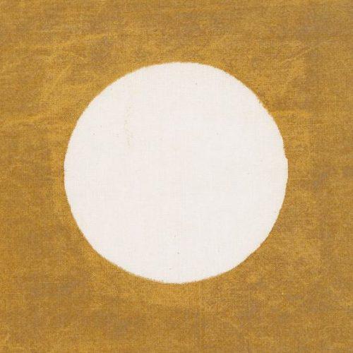 Dekorativt kuddfodral med stora, runda prickar