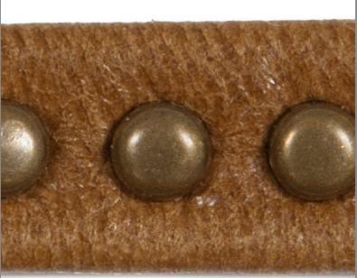Studded cord - tufft och rustikt snörmakeriband med nitar