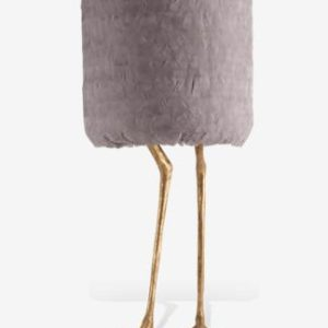 Duck Feet Lamp  Gold Feather PR