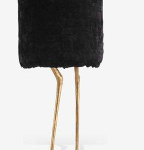 Duck Feet Lamp  Gold Feather PR Bl