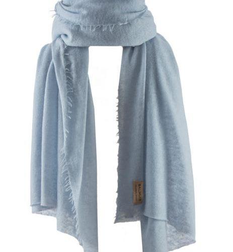 Helsinki scarf baby blue