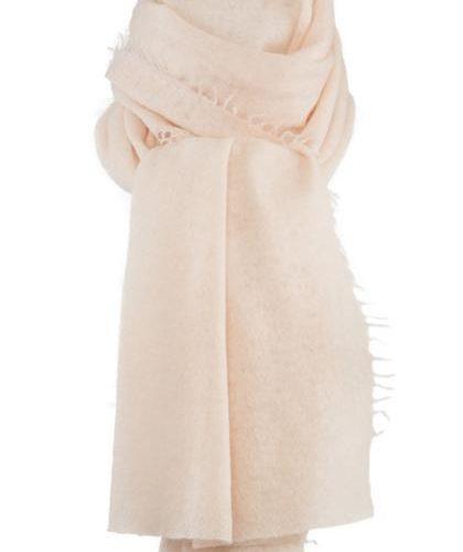 Helsinki scarf pale pink