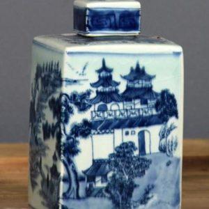 Vacker Tedosa I Kinesiskt Mönster