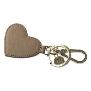 Hjärtformad Nyckelring -en Accessoar Som Betyder Kärlek