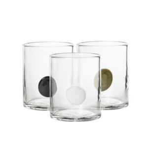 Stilrent Glas Med Detalj